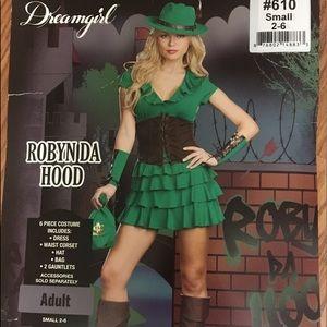 Dreamgirl Robyn Hood (Peter-pan) cosplay NWT